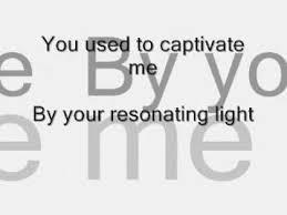<b>Evanescence</b> My immortal ( <b>Fallen</b> ) Lyrics - YouTube