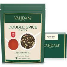 <b>Double Spice</b> Masala Chai   Loose Leaf <b>Tea</b> - 3.53 Oz - VAHDAM ...