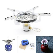 Outdoor <b>Portable Folding</b> Stainless Steel <b>Camping</b> Gas Stove for ...