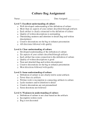 mr guerriero s blog all about my culture day the rubric click for a larger image