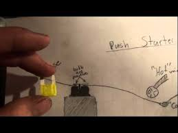 how to wire a push starter very easy