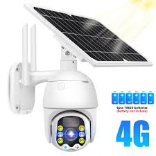 IP Camera 1080P 4G Sim Card <b>Solar</b> PTZ Speed Dome Camera ...