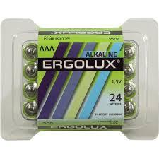 Батарейки <b>AAA Ergolux</b> LR03 BP-24 24 шт. — купить в городе ...