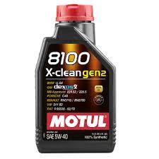 <b>Моторное масло Motul 8100</b> X-clean SAE 5W-40