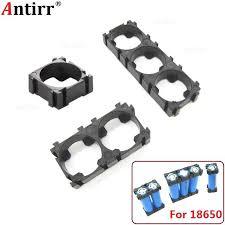 <b>20pcs</b> Plastic 1 2 3 <b>Cell 18650 Battery</b> Holder Bracket Cylindrical Li ...