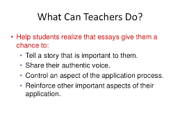 communicating their stories  strategies to help students write powerf…essays opportunity • share • reflect • stand out
