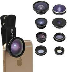TEQSTONE 8-in-1 Clip-On Cell Phone Camera Lens ... - Amazon.com