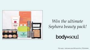 Enter our beauty competition to WIN a $2,000 <b>Sephora</b> beauty pack