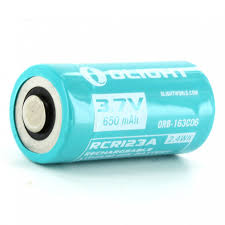 <b>Аккумулятор Li-ion OLIGHT ORB-163C06</b> 16340 3,7 В 650 MAH