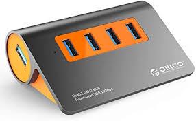 ORICO Powered USB Hub, 4 Ports Powered USB 3.1 ... - Amazon.com