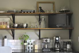 pictures kitchen wall shelving