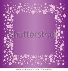 <b>Cherry Blossom</b> On Lilac Background <b>Beautiful</b> Stock Vector ...