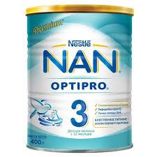 ᐅ <b>NAN</b> (Nestlé) <b>3</b> Optipro (с 12 месяцев) 400 г отзывы — 89 ...
