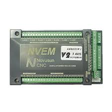 <b>NVEM Mach3</b> Control Card 300KHz Ethernet Port for <b>CNC</b> router 3 <b>4</b> ...