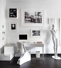 black and white home office black and white home office