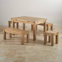 delivery dorset natural real oak dining set: dorset natural solid oak dining set ft