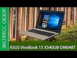 Экспресс-обзор <b>ноутбука ASUS VivoBook 15</b> X540UB-DM048T