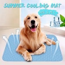 Chilly Mat <b>Pet</b> Dog <b>Cat</b> Soft <b>Summer Cooling Bed</b> Fiber Mats Chilly ...