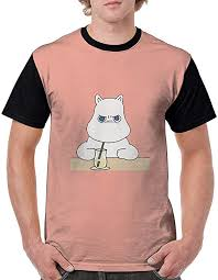 Amazon.co.jp: <b>Men's Short</b> Sleeve Moomin (3) T-shirt, <b>Creative</b> ...