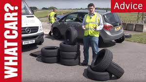 Cheap tyres versus expensive tyres - What Car? - YouTube