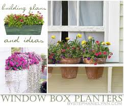 planter boxes ideal ten diy window box planter ideas with free building plans tuesday ten