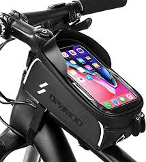 Bike Phone Front Frame Bag - Waterproof Bicycle ... - Amazon.com