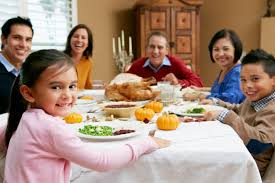 holiday hearing tips for your child family dinner