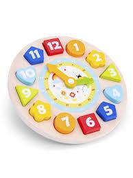 Часы-<b>сортер New Classic Toys</b> 13878998 в интернет-магазине ...