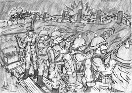 german trenches wwi drawings from tranches century of ier s trench warfare diagram google search