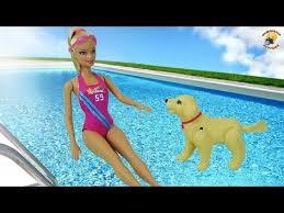 Барби с собачкой – Чемпионы по плаванию! Серия <b>Barbie</b> «I can be