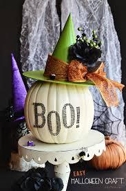 Easy <b>Halloween</b> Craft <b>Pumpkin Witch</b> Hat
