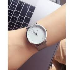Hot fashion minimalism style women's watches <b>blue pointer</b> simple ...