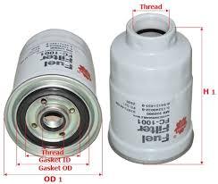 Топливные <b>фильтры</b>: <b>Фильтр</b> топливный FC1001 <b>Sakura</b>