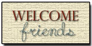 welcome friends images के लिए चित्र परिणाम