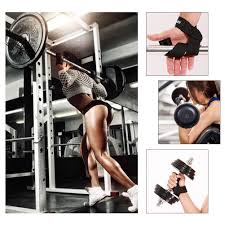 Dream  <b>2pcs Weightlifting Hand</b> Pad Wrist Wrap Straps Gym Support ...