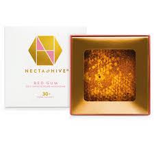 <b>Red</b> Gum <b>Honeycomb</b> 30+ TA antimicrobial honey | Necta & Hive