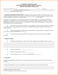 lance writing contract template template lance writing contract template