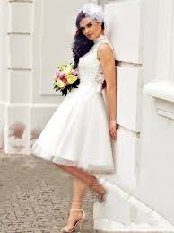 Discount <b>2019 New Lace</b> Wedding Dresses Short Boho Beach ...