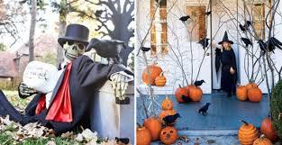 ideas outdoor halloween pinterest decorations:
