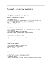 sample accounting interview questions more accountant interview questionnaire sample an accountant interview questionnaire is a questionnaire prepared for an accountant and