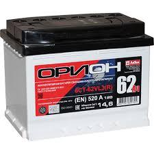 """Аккумулятор легковой """"<b>ОРИОН</b>"""" <b>62Ач</b> о/п — купить в интернет ..."""