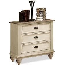 La Rana Furniture Bedroom Riverside Furniture Coventry Two Tone 3 Drawer Night Stand Ahfa