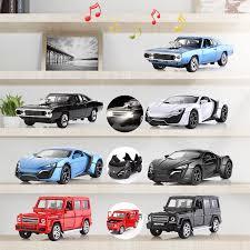 2019 <b>1:32</b> Pull Back <b>Alloy Cars Die Cast</b> Vehicle <b>Car</b> Collection ...