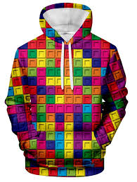 Men's Hoodie Magic Cube Puzzle Print Sale, Price & Reviews ...