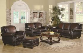 Living Room Ashley Leather Sofa Great With Additional Home Designing Inspiration