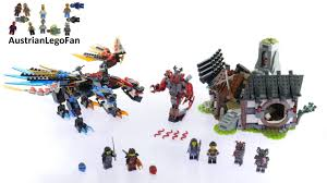 Lego Ninjago 70627 <b>Dragon</b>´s Forge - Lego Speed Build Review ...
