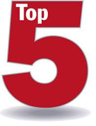 Resultado de imagen de top 5