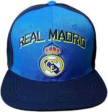 Rhinox Blue <b>Real Madrid</b> C.F. Hat Cap Curved Bill Adjustable Neon ...