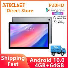 [<b>Teclast</b> Official Store]<b>Teclast P20HD</b> Android <b>10 4G</b> Phone Call ...