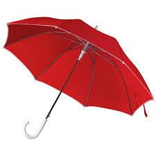 <b>Зонт</b>-трость Unit <b>Color</b>, красный (артикул 5777.50) - <b>Проект 111</b>